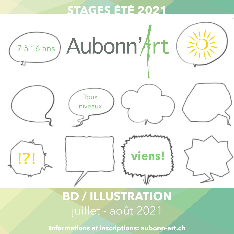 Aubonn'Art - Stage d'été 2021