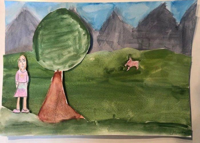 Réalisations - Galerie des enfants - Découpage et collage - Aubonn'Art